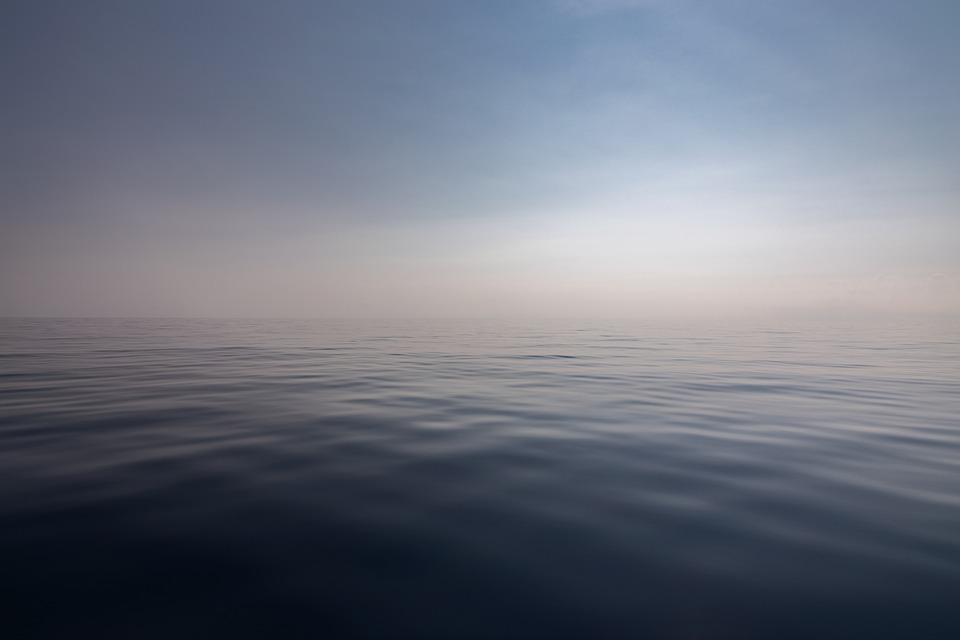 an endless body of water during daytime.